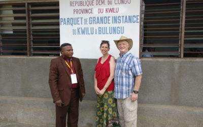 A Prayerful Boat Ride – News from the Congo